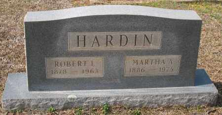 HARDIN, ROBERT L - Grant County, Arkansas | ROBERT L HARDIN - Arkansas Gravestone Photos