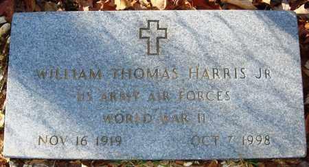 HARRIS, JR (VETERAN WWII), WILLIAM THOMAS - Grant County, Arkansas | WILLIAM THOMAS HARRIS, JR (VETERAN WWII) - Arkansas Gravestone Photos