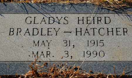 HEIRD HATCHER, GLADYS - Grant County, Arkansas   GLADYS HEIRD HATCHER - Arkansas Gravestone Photos