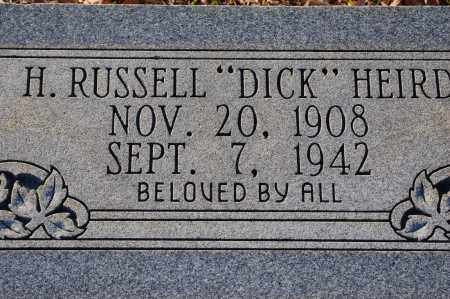 "HEIRD, H. RUSSELL ""DICK"" - Grant County, Arkansas 