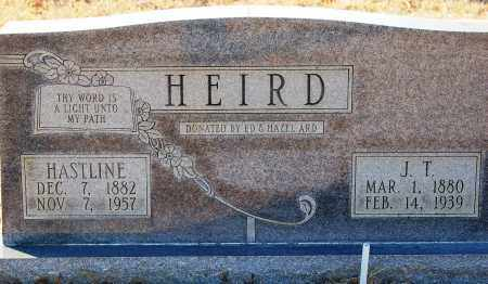 HEIRD, J. T. - Grant County, Arkansas | J. T. HEIRD - Arkansas Gravestone Photos