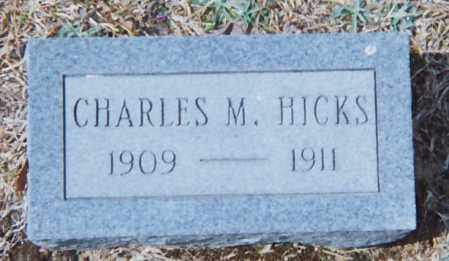 HICKS, CHARLES M. - Grant County, Arkansas   CHARLES M. HICKS - Arkansas Gravestone Photos