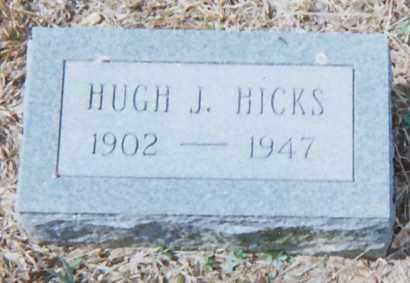 HICKS, HUGH J - Grant County, Arkansas | HUGH J HICKS - Arkansas Gravestone Photos