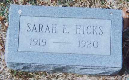 HICKS, SARAH L. - Grant County, Arkansas | SARAH L. HICKS - Arkansas Gravestone Photos