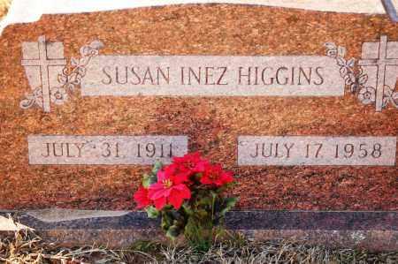 HIGGINS, SUSAN INEZ - Grant County, Arkansas | SUSAN INEZ HIGGINS - Arkansas Gravestone Photos