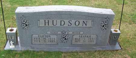 HUDSON, CLIFTON - Grant County, Arkansas | CLIFTON HUDSON - Arkansas Gravestone Photos