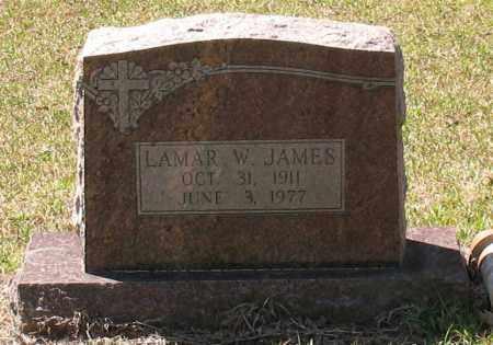 JAMES, LAMAR W - Grant County, Arkansas | LAMAR W JAMES - Arkansas Gravestone Photos