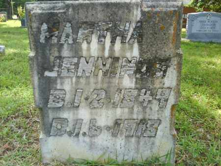 JENNINGS, MARTHA - Grant County, Arkansas | MARTHA JENNINGS - Arkansas Gravestone Photos