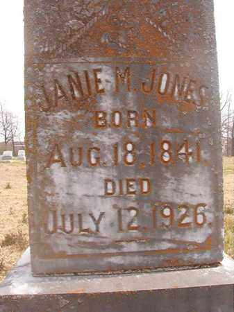 JONES, JANIE M - Grant County, Arkansas | JANIE M JONES - Arkansas Gravestone Photos