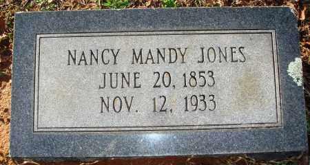 JONES, NANCY MANDY - Grant County, Arkansas | NANCY MANDY JONES - Arkansas Gravestone Photos
