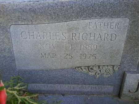 JORDAN, CHARLES RICHARD (CLOSEUP) - Grant County, Arkansas   CHARLES RICHARD (CLOSEUP) JORDAN - Arkansas Gravestone Photos