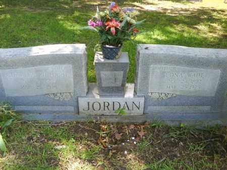 JORDAN, EDNA - Grant County, Arkansas | EDNA JORDAN - Arkansas Gravestone Photos
