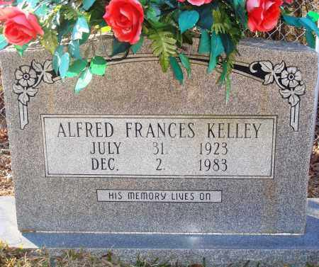 KELLEY, ALFRED FRANCES - Grant County, Arkansas | ALFRED FRANCES KELLEY - Arkansas Gravestone Photos