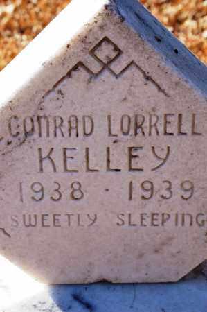 KELLEY, CONRAD LORRELL - Grant County, Arkansas | CONRAD LORRELL KELLEY - Arkansas Gravestone Photos