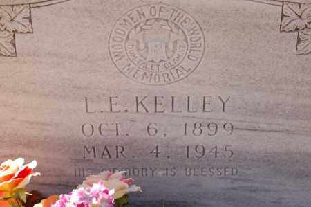KELLEY, L. E. - Grant County, Arkansas   L. E. KELLEY - Arkansas Gravestone Photos