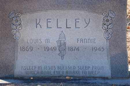 KELLEY, FANNIE - Grant County, Arkansas | FANNIE KELLEY - Arkansas Gravestone Photos