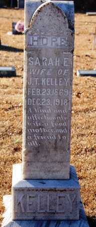 KELLEY, SARAH E. - Grant County, Arkansas | SARAH E. KELLEY - Arkansas Gravestone Photos