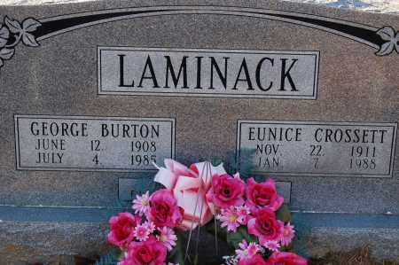 LAMINACK, GEORGE BURTON - Grant County, Arkansas   GEORGE BURTON LAMINACK - Arkansas Gravestone Photos