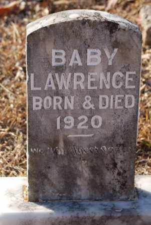 LAWRENCE, BABY - Grant County, Arkansas   BABY LAWRENCE - Arkansas Gravestone Photos