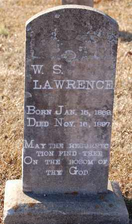 LAWRENCE, W. S. - Grant County, Arkansas | W. S. LAWRENCE - Arkansas Gravestone Photos