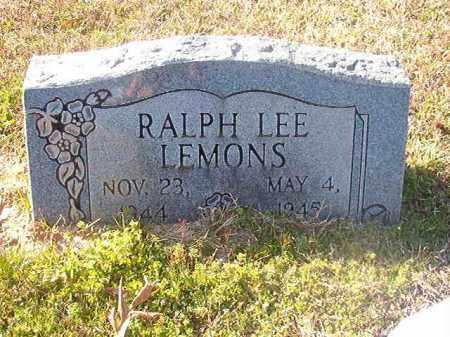 LEMONS, RALPH LEE - Grant County, Arkansas | RALPH LEE LEMONS - Arkansas Gravestone Photos