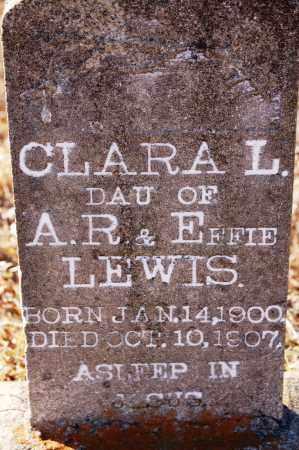 LEWIS, CLARA - Grant County, Arkansas | CLARA LEWIS - Arkansas Gravestone Photos