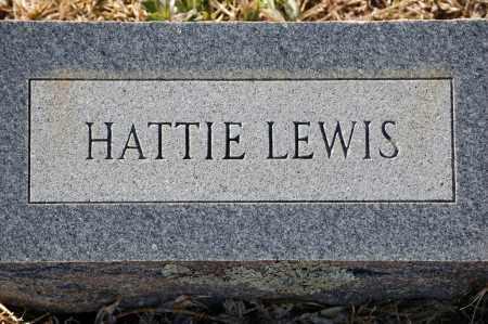 LEWIS, HATTIE - Grant County, Arkansas | HATTIE LEWIS - Arkansas Gravestone Photos