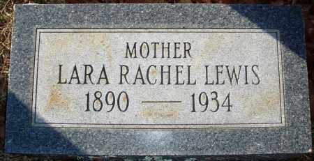 LAWSON LEWIS, LARA RACHEL - Grant County, Arkansas | LARA RACHEL LAWSON LEWIS - Arkansas Gravestone Photos