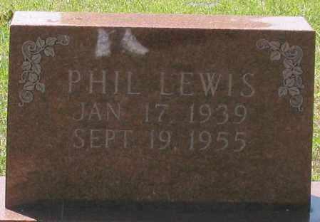 LEWIS, PHIL - Grant County, Arkansas | PHIL LEWIS - Arkansas Gravestone Photos