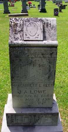 LOWE, MARGARRETT L - Grant County, Arkansas | MARGARRETT L LOWE - Arkansas Gravestone Photos