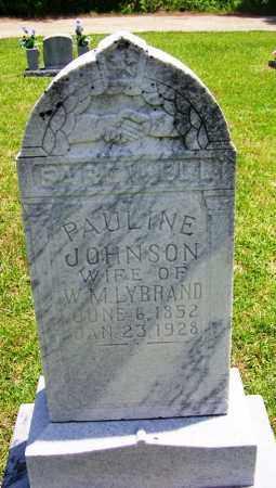 JOHNSON LYBRAND, PAULINE - Grant County, Arkansas | PAULINE JOHNSON LYBRAND - Arkansas Gravestone Photos