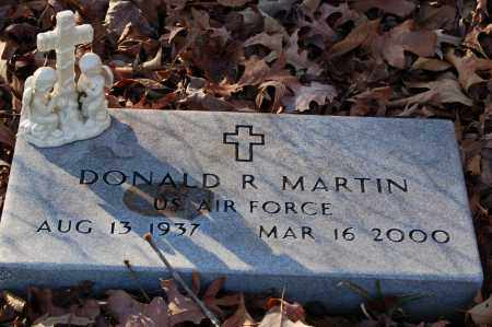 MARTIN (VETERAN), DONALD R - Grant County, Arkansas | DONALD R MARTIN (VETERAN) - Arkansas Gravestone Photos