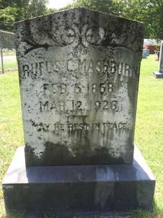 MASHBURN, RUFUS C. - Grant County, Arkansas   RUFUS C. MASHBURN - Arkansas Gravestone Photos