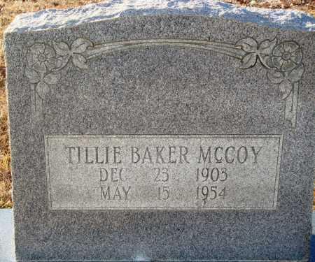 BAKER MCCOY, TILLIE - Grant County, Arkansas   TILLIE BAKER MCCOY - Arkansas Gravestone Photos