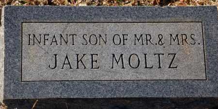 MOLTZ, INFANT SON - Grant County, Arkansas | INFANT SON MOLTZ - Arkansas Gravestone Photos