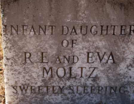 MOLTZ, INFANT DAUGHTER - Grant County, Arkansas   INFANT DAUGHTER MOLTZ - Arkansas Gravestone Photos
