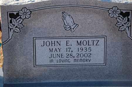 MOLTZ, JOHN E - Grant County, Arkansas   JOHN E MOLTZ - Arkansas Gravestone Photos