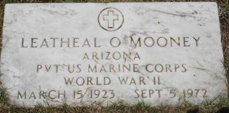MOONEY  (VETERAN WWII), LEATHEAL - Grant County, Arkansas   LEATHEAL MOONEY  (VETERAN WWII) - Arkansas Gravestone Photos