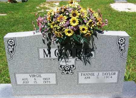 MOORE, VIRGIL - Grant County, Arkansas | VIRGIL MOORE - Arkansas Gravestone Photos