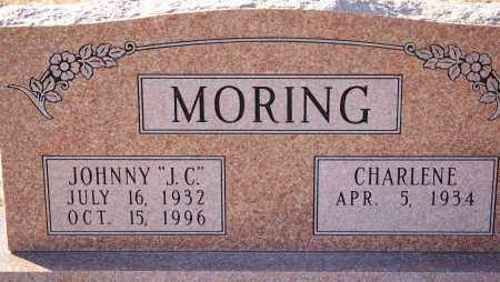 "MORING, JOHNNY ""J. C."" - Grant County, Arkansas   JOHNNY ""J. C."" MORING - Arkansas Gravestone Photos"