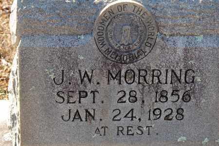 MORRING, J. W. - Grant County, Arkansas | J. W. MORRING - Arkansas Gravestone Photos