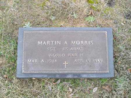 MORRIS  (VETERAN WWII), MARTIN A - Grant County, Arkansas | MARTIN A MORRIS  (VETERAN WWII) - Arkansas Gravestone Photos