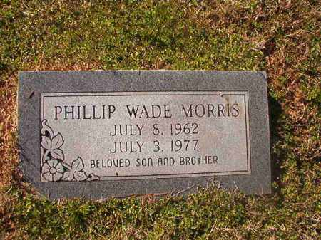 MORRIS, PHILLIP WADE - Grant County, Arkansas | PHILLIP WADE MORRIS - Arkansas Gravestone Photos