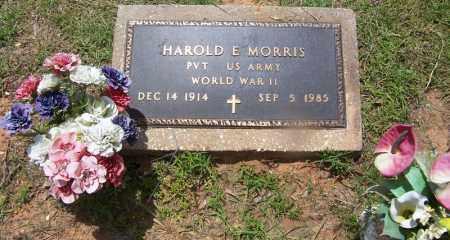 MORRIS (VETERAN WWII), HAROLD E - Grant County, Arkansas | HAROLD E MORRIS (VETERAN WWII) - Arkansas Gravestone Photos