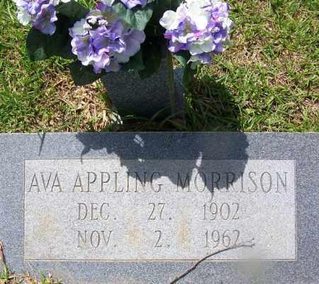 MORRISON, AVA - Grant County, Arkansas | AVA MORRISON - Arkansas Gravestone Photos