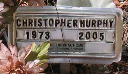 MURPHY, CHRISTOPHER MICHAEL - Grant County, Arkansas | CHRISTOPHER MICHAEL MURPHY - Arkansas Gravestone Photos