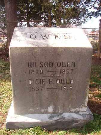 OWEN, DICIE H - Grant County, Arkansas   DICIE H OWEN - Arkansas Gravestone Photos