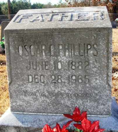 PHILLIPS, OSCAR C - Grant County, Arkansas | OSCAR C PHILLIPS - Arkansas Gravestone Photos