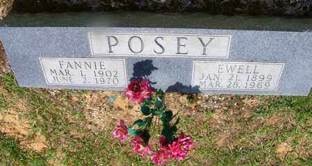 POSEY,, FANNIE - Grant County, Arkansas | FANNIE POSEY, - Arkansas Gravestone Photos