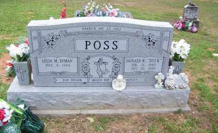 "POSS, DONALD R ""DUCK"" - Grant County, Arkansas   DONALD R ""DUCK"" POSS - Arkansas Gravestone Photos"